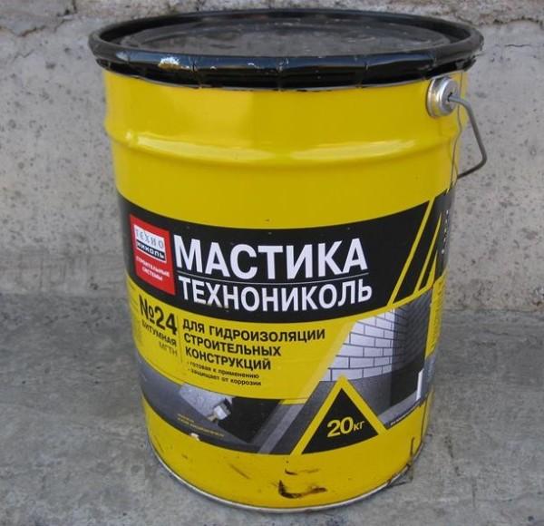мастика битумная гидроизоляционная сертификат прилагается